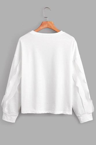 back_Hertha White Sweatshirt