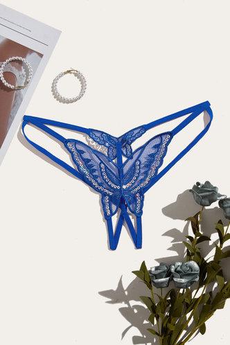 front_Lillian Eden Blue Panty
