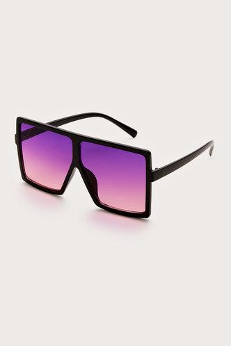 back_Summer Elizabeth Purple Square Frame Sunglasses