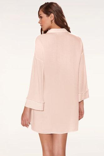 back_Beneficence Pink Mini Dress
