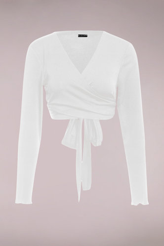 front_Bridget Terry White Top