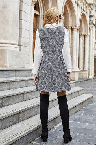 back_Nicola Black And White Dress