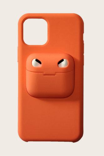 back_Alicia Eunice Orange Phone Case
