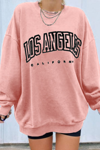front_Norah Eileen Pink Pullover