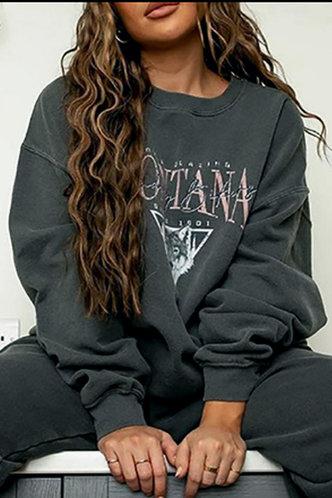 front_Antonia Eartha Dark Grey Pullover