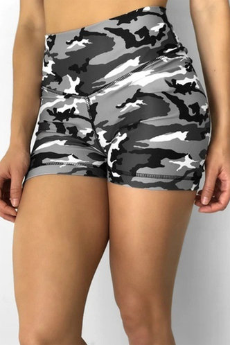 back_Candice Eartha Grey Camo Shorts
