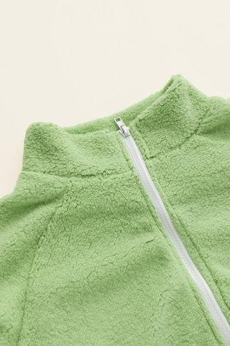 back_Rhea Eartha Mint Green Jacket