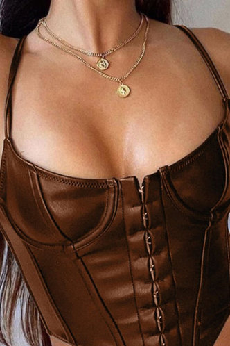 front_Cheryl Eartha Brown Bustier