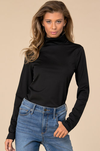 front_Practical Magic Black Slim Fit T-shirt