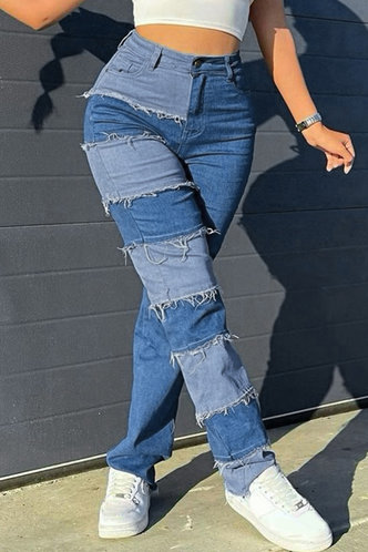 front_Lana Eve Colorblock Jeans