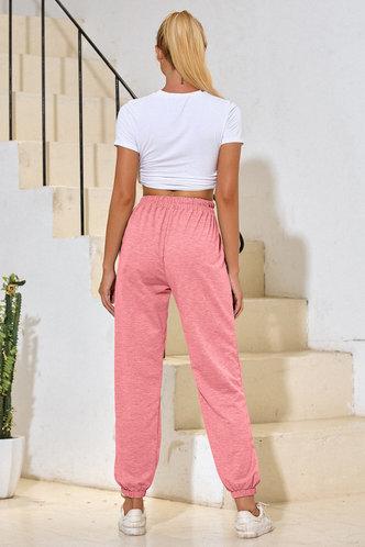 back_Malak Coral Pink Sweatpants