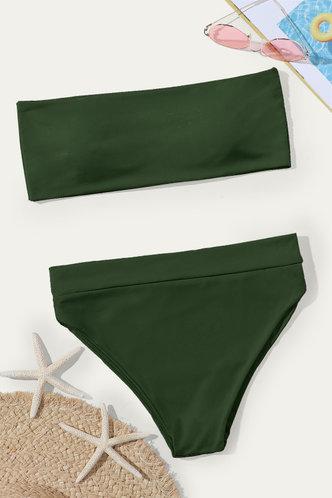 back_Almond Elaine Dark Green Bikini