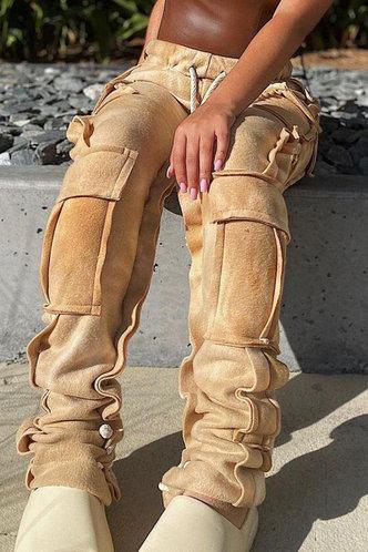 back_Rea Eve Camel Sweatpants