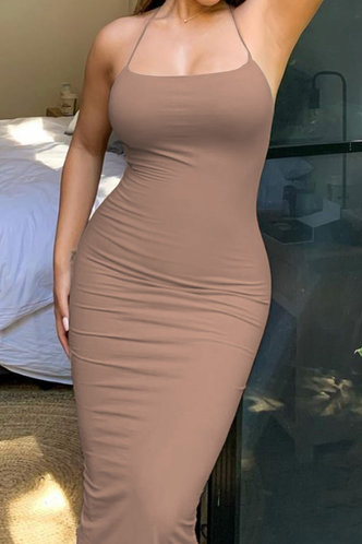 front_Lena Elvira Desert Rose Cami Bodycon Dress