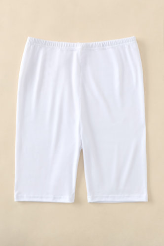 back_Libby Eden White Biker Shorts
