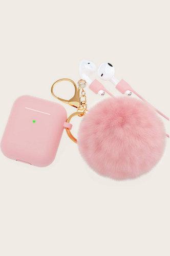 front_Faux Fur Pink Cases