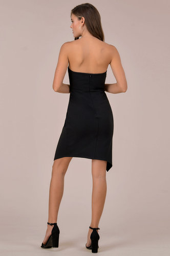 back_Diva Black Mini Dress