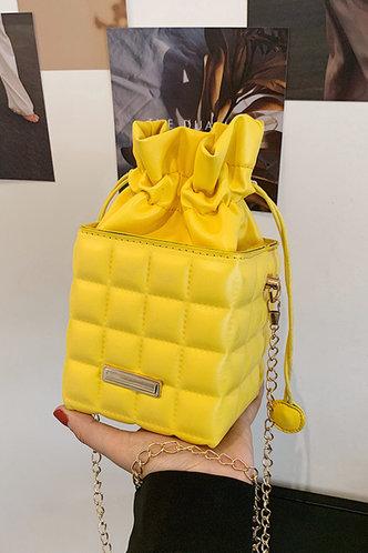 front_Cornelia Esther Yellow Crossbody Bag