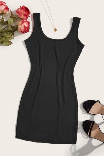 back_Liz Elaine Black Bodycon Dress