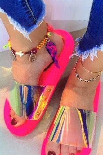 front_Odelia Elvira Rose Pink Slides