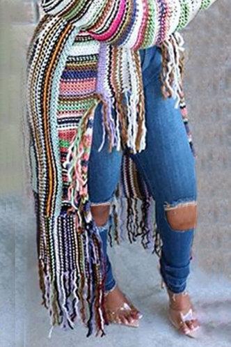 back_Mid Waist Conventional Wash Dark Blue Women Jeans