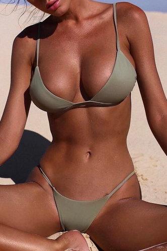 front_Nan Edith Green Bikini