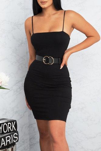 front_Sherry Eden Black Bodycon Dress