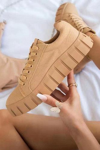 front_Constance Erica Khaki Skate Shoes