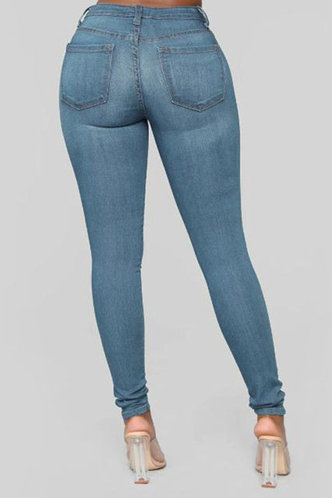 back_Phillis Elma Wash Blue Bodycon Jeans