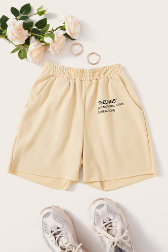 back_Mignon Elva Beige Shorts