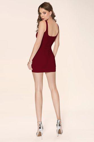 back_Kiss The Light {Color} Mini Dress