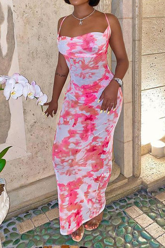 front_Margie Eve Pink Tie Dye Cami Bodycon Maxi Dress