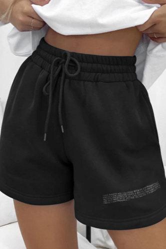 front_Lolita Emma Black Shorts