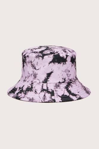 back_Gemma Eileen Purple Tie Dye Bucket Hat