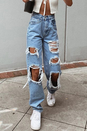 front_Camille Blue Ripped Jeans