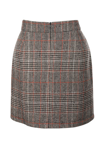 back_Perfect {color} Bodycon Skirt