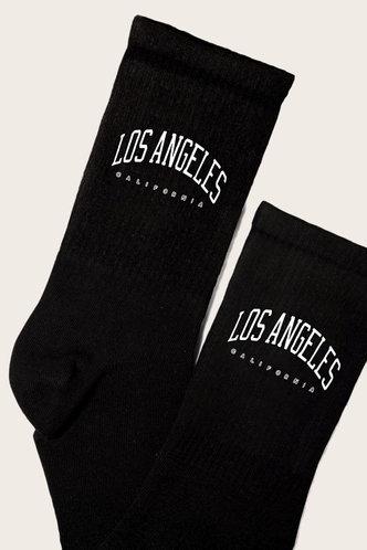 back_Lucinda Elsa Black Socks 1pair