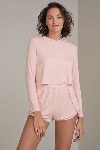 front_Young Forever Blush Shorts