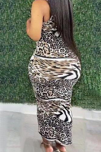 back_Evangeline Laget Leopard Print Halter Bodycon Dress