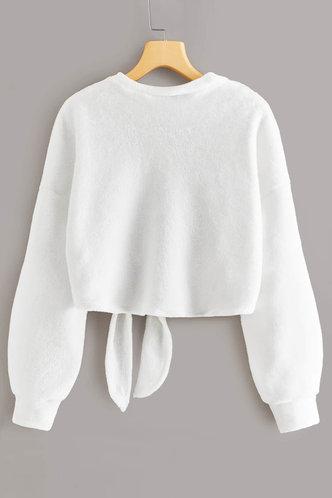 back_Cecilia Eartha White Fuzzy Pullover