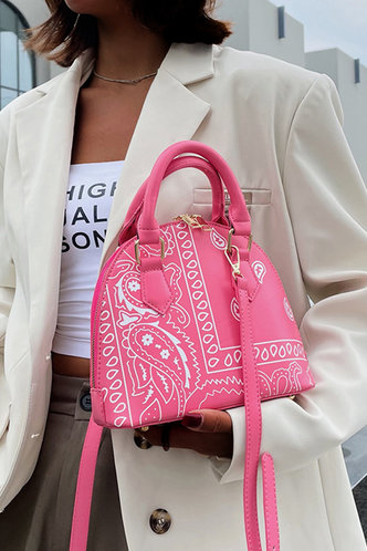 front_All Over Print Paisley Print Satchels