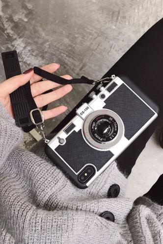 front_Loraine Eunice Black Phone Case
