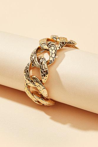 back_Amity Elma Gold Chain Bracelet