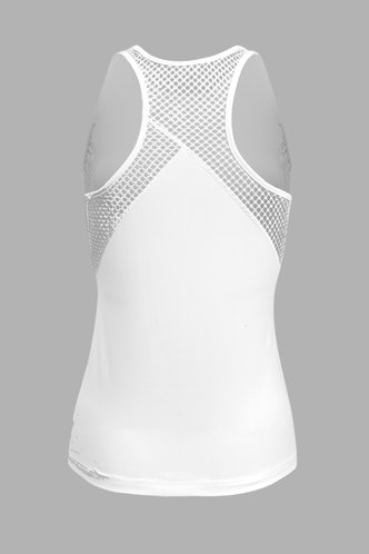 back_Muriel White Activewaear Top
