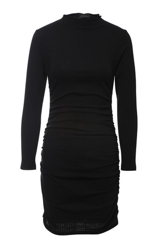 back_Falling In Love Black Dress