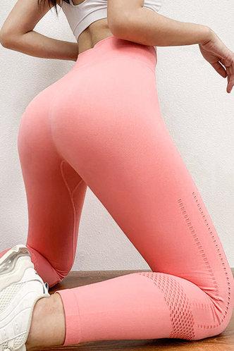 front_Valentine Olive Coral Leggings
