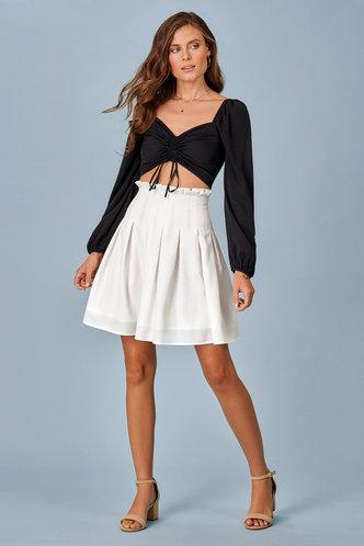 front_Pleats Please {Color} Skirt
