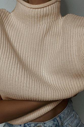 front_Lounge Lifestyle Khaki Sweater