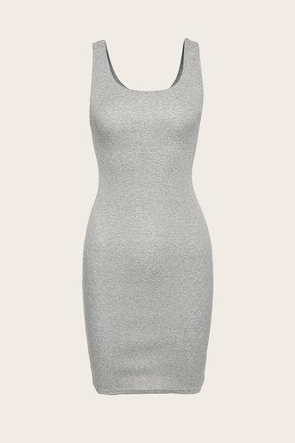 back_Maisie Eden Light Grey Dress
