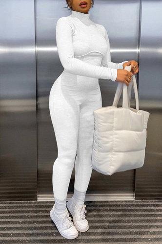 front_Karen Fesanan White Jumpsuit